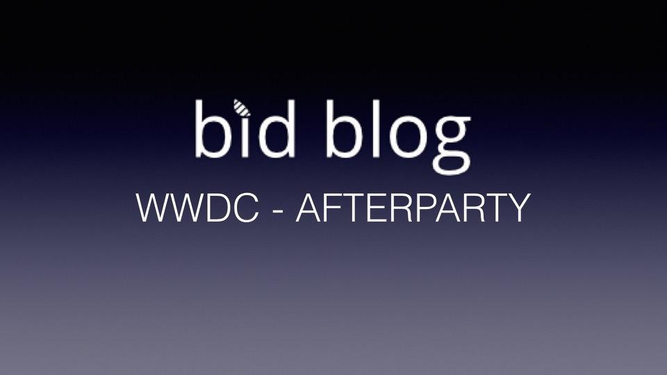 I denne live event summer jeg lidt over WWDC sammen med jer