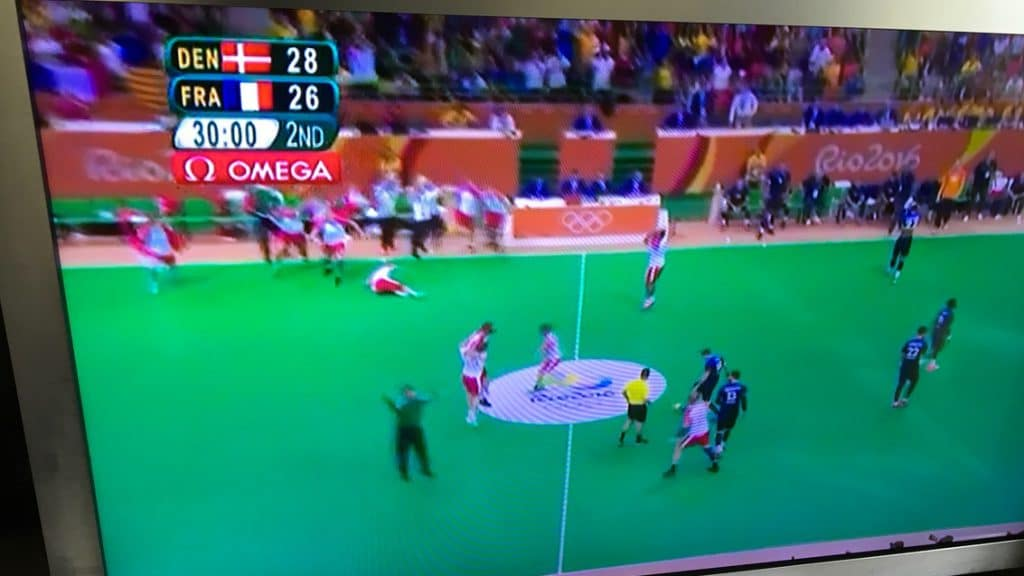 Danmark basker Frankrig i håndboldfinalen til OL i Rio 2016