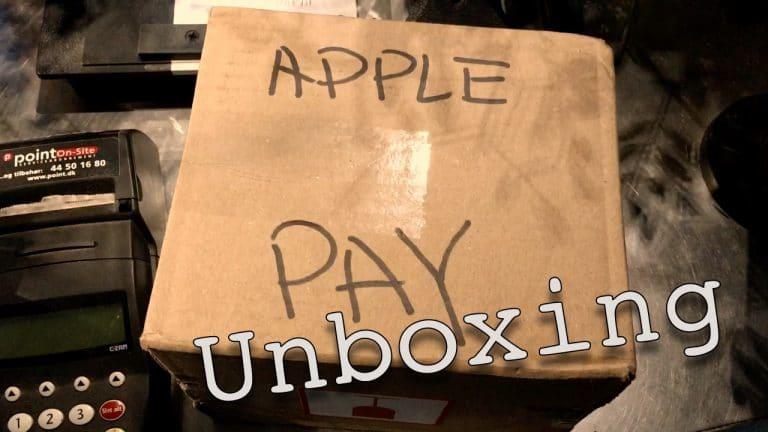 Ja du kan modtage Apple Pay i din butik