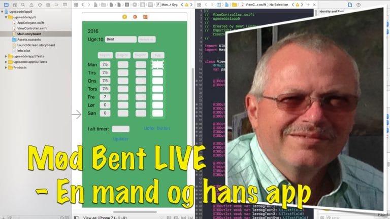 Mød Bent på 54 og hans App