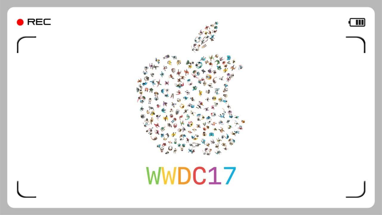 WWDC 2017 keynote billede