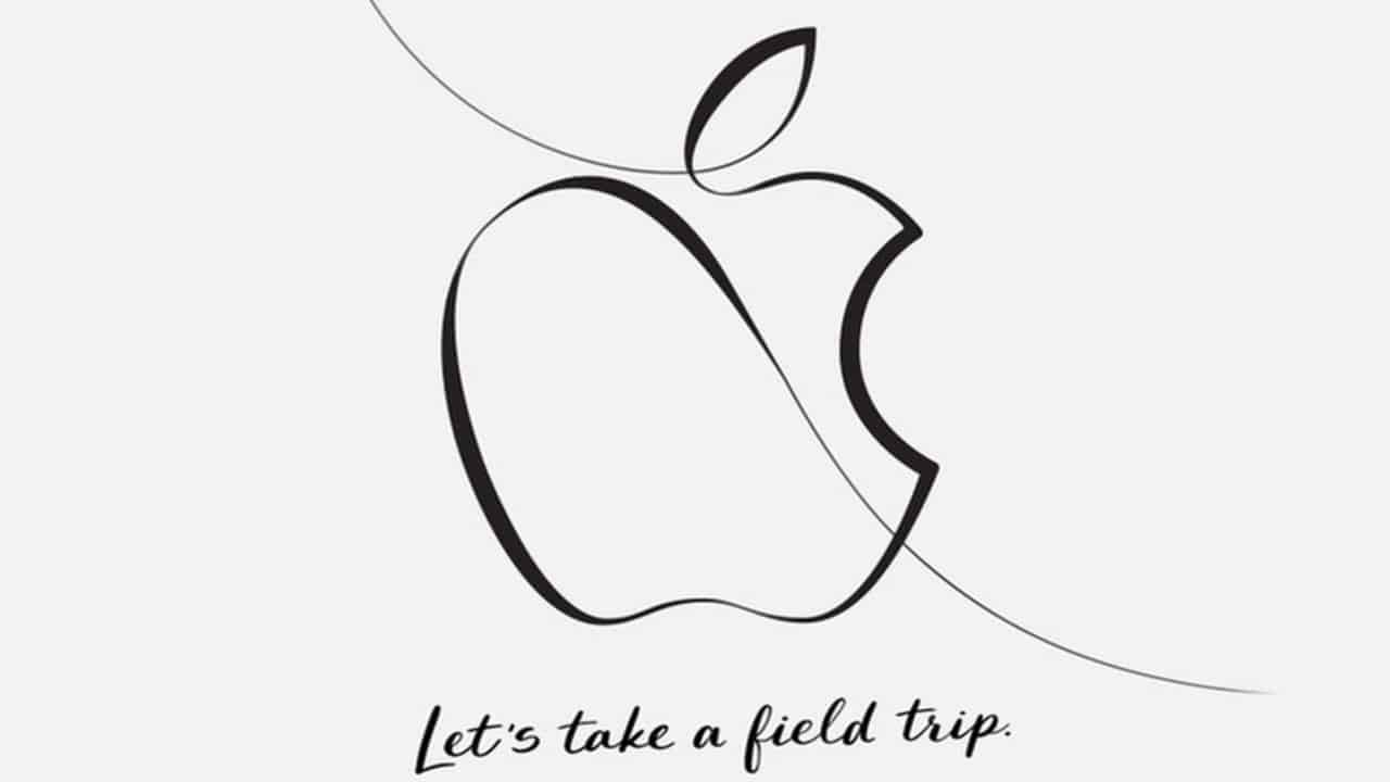 Apples lets take a field trip event billede