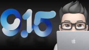 Apples 9.15 keynote logo
